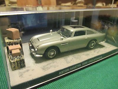 JAMES BOND CARS COLLECTION 025 ASTON MARTIN DB5 (ejected) GOLDFINGER • 9.99£