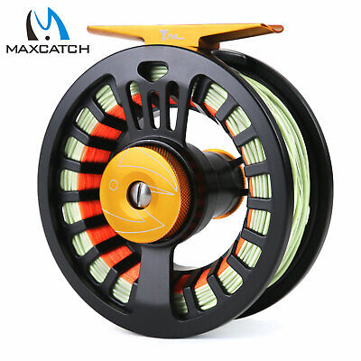 $ CDN62.92 • Buy Maxcatch 3/4/5/6/7/8wt Tail Pre-Loaded Fly Fishing Reel &Fly Line,Backing,Leader
