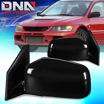 $45.68 • Buy For 2002-2007 Mitsubishi Lancer Pair Oe Style Manual Door Mirror Replacement