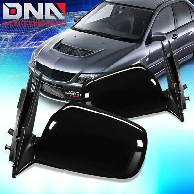 $60.68 • Buy For 2002-2007 Mitsubishi Lancer Pair Oe Style Power+heat Door Mirror Replacement