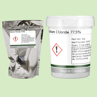 £6.95 • Buy Calcium Chloride 77.5% 100g To 1Kg