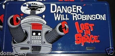 $ CDN17.11 • Buy Lost In Space - B9 Robot License Plate Car Tag - B-9