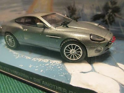 James Bond Cars Collection 002 Aston Martin V12 Vanquish Die Another Day • 6.99£