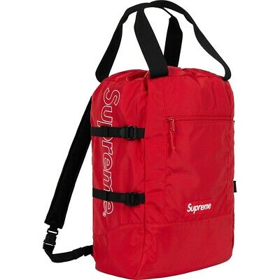 $ CDN248.13 • Buy Supreme SS19 Tote Backpack Authentic BOX LOGO BAG SHOULDER DUFFLE MESSENGER TNF