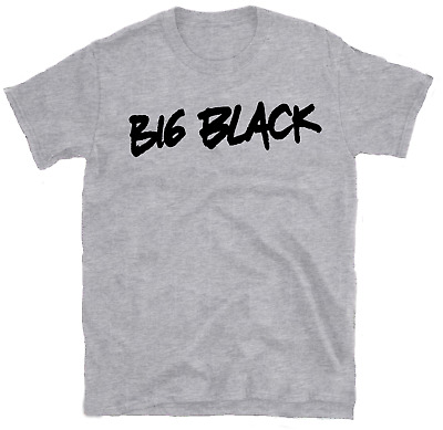 BIG BLACK 'Logo' T-shirt, Shellac, Rapeman, Jesus Lizard, Killdozer, Sonic Youth • 12£