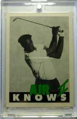 $14.79 • Buy Rare: AIR KNOWS II Michael Jordan NIKE PROMO, Golfing, SP BULLS HOF