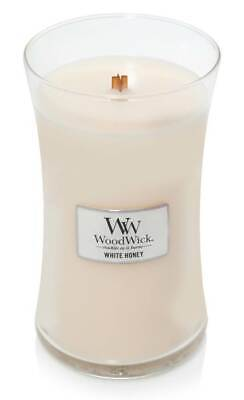 $26.49 • Buy WHITE HONEY - WoodWick 22 Oz Scented Candles