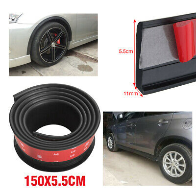 $19.22 • Buy 2PCS Universal Car Wheel Fender Extension Rubber Moulding Flare Trim Protector