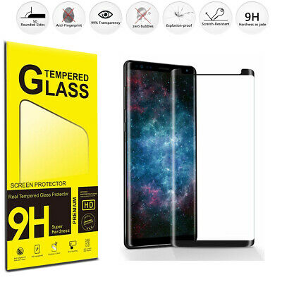 $ CDN2.69 • Buy Samsung Galaxy Note 8 / 9 S9 S10 Plus Full Cover Tempered Glass Screen Protector
