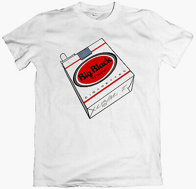 BIG BLACK 'Cigarettes' T-shirt Shellac Rapeman Jesus Lizard Sonic Youth Slint • 12£