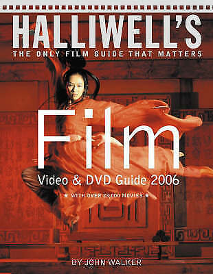 £5 • Buy Halliwell's Film, Video And DVD Guide: 2006 By HarperCollins Publishers...