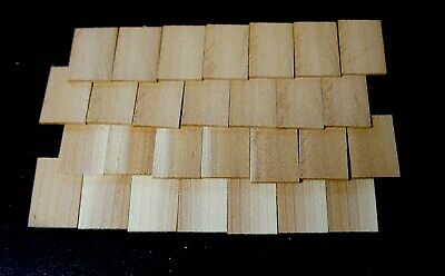 $12.25 • Buy Dollhouse CEDAR SHAKE SHINGLES 300 Pc / Raw Material Wood Roofing /Craft Project