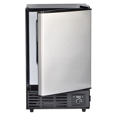 Smad Built-In Commercial Ice Maker Undercounter Freestanding Ice Cube Machine • 274.55$