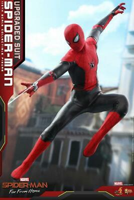 AU459.86 • Buy 1/6th Hot Toys Spider-Man Far From Home Peter Parker Upgraded Suit Ver. MMS542