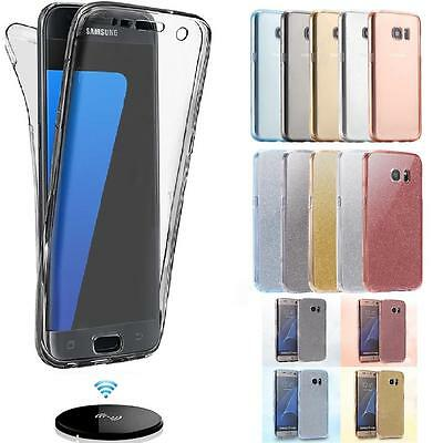 $ CDN4.12 • Buy Shockproof 360 Clear Slim Gel Case Cover For Samsung Galaxy S8 S9 S10 Plus S10e