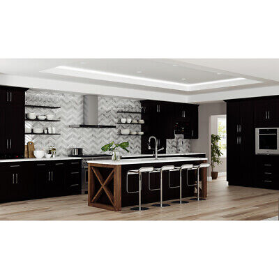 $2359 • Buy Lily Ann Cabinets 10x10 Wood Kitchen Cabinets Furniture RTA - Shaker Espresso