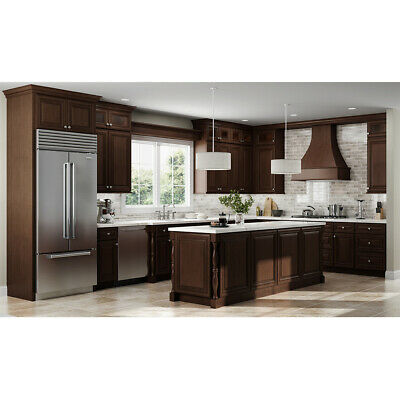 $2269 • Buy Lily Ann Cabinets 10x10 Wood Kitchen Cabinets Furniture RTA - Charleston Saddle