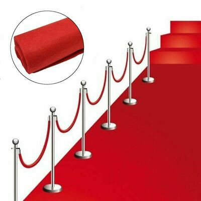 £14.99 • Buy 40ft Hollywood Party VIP Red Carpet Floor Runner Prom Birthday Prop Decoration