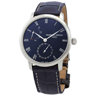 $1779.75 • Buy Frederique Constant Slimline Automatic Power Reserve Blue Men's Watch