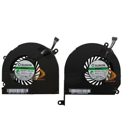 $17.38 • Buy New Fan Left And Right Side CPU Cooling Fans For 17  A1261 2008 MacBook Pro #DD