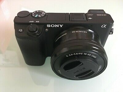 View Details SONY A6300 Mirrorless Camera With 16-50 Mm F/3.5-5.6 Lens • 500.00£