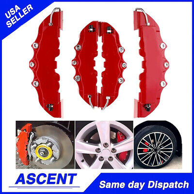 $ CDN17.33 • Buy 4PACK 3D Style Car Universal Disc Brake Caliper Covers Front & Rear Kits Parts