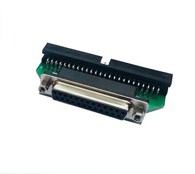 £8.95 • Buy 25 Pin Female D-sub Db25 To 50 Pin Male Idc Scsi Adapter New 00295