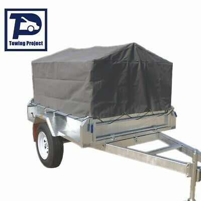 AU320 • Buy Box Cage Trailer Cover Canvas Tarp For 6x4x2 Ft (600mm) High Cage