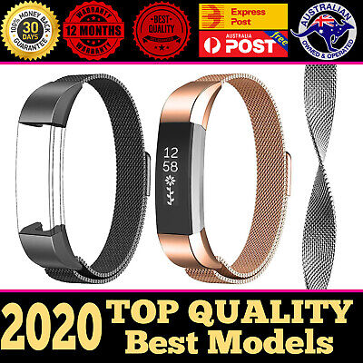 AU11.49 • Buy Fitbit Alta HR Replacement Wristband Watch Band Strap Bracelet Stainless Steel