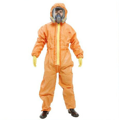 3M 4690 Protective Coverall Chemical Liquid Nuclear Radiation Protection Suit B • 63.45$
