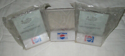 $17.95 • Buy 3 PEPSI Acrylic TABLE STAND MENU HOLDER 2 Sided IN CLEAR PLASTIC Diet VINTAGE