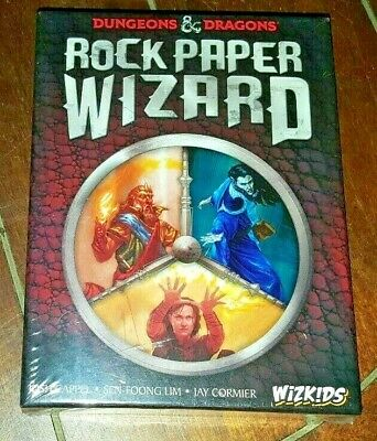 Wizkids Dungeons & Dragons -Rock Paper Wizard- Card Game! 3-6 Players (Age 14+) • 24.80$