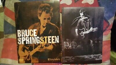 Bruce Springsteen Storytellers Dvd With Booklet  • 4£
