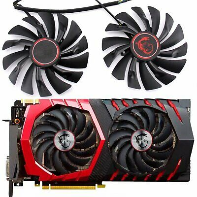 AU37.86 • Buy 2* Cooler Cooling Fan For MSI GTX1080 1070 1060 960 RX470 480 570 580 GAME Card