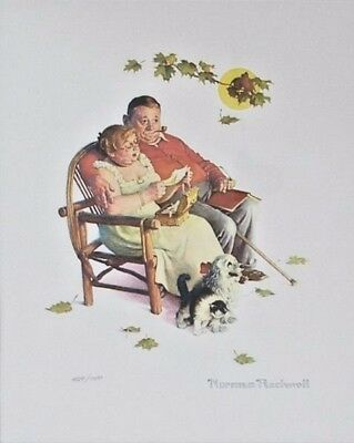 $ CDN829.34 • Buy Norman Rockwell Fondly Do We Remember Lithograph
