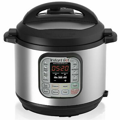 $89 • Buy Instant Pot 6 Quart 7-in-1 Stainless Steel Pressure Cooker