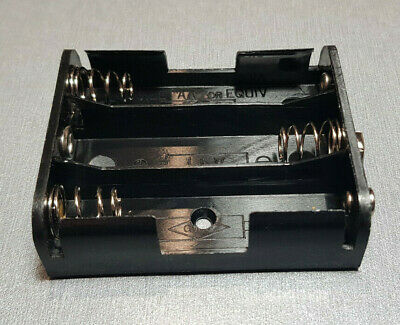 AU6.85 • Buy 3 X AA Flat Side-by-side Battery Holder To 9V DC Connector