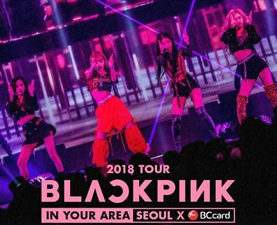 $ CDN13.30 • Buy Blackpink 2018 Tour In Your Area Seoul Official Goods Sticker Set Sealed