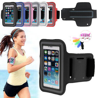 AU6.24 • Buy Sports Running Jogging Armband Exercise Case Cover For IPhone XS Max 8 7 6s Plus