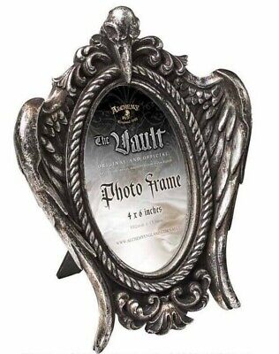 Alchemy England - My Soul From The Shadow Picture Frame, Raven Skull Gothic Gift • 22.50£