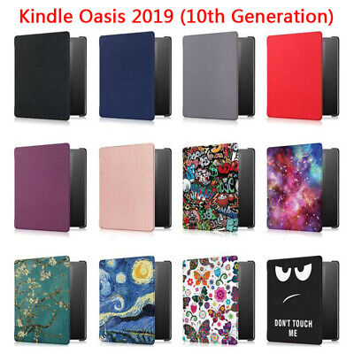 AU17.46 • Buy For Amazon Kindle Oasis 10th Gen 7in 2019 Auto Wake PU Leather Case Cover Shell