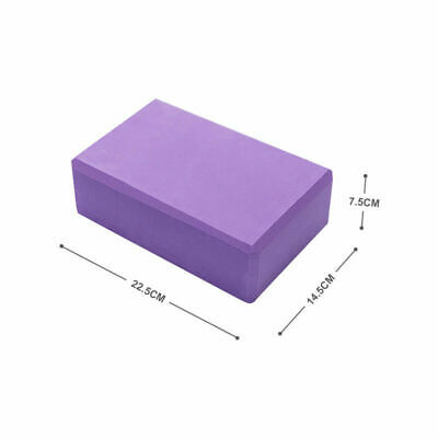 AU14.44 • Buy 2PcsYoga Block Brick Foaming Practice Fitness Gym Sport Tools Home Exercise