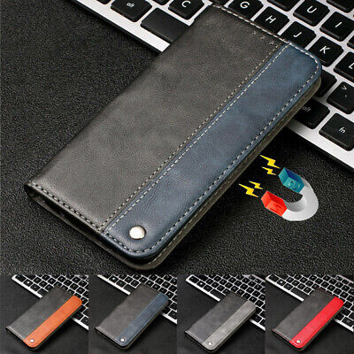 $ CDN7.64 • Buy For Samsung Galaxy S8 S9 S10e Plus Leather Magnetic Flip Wallet Case Cover Skin
