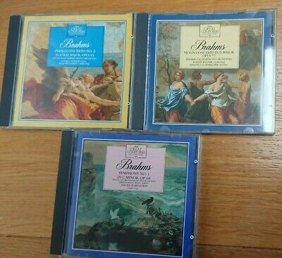 Brahms - The Great Composers - 3 CDs • 2.99£