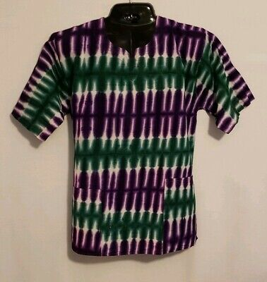 $18 • Buy African Print Unisex Purple And Green Shirt