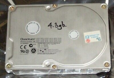 AU60 • Buy Quantum 4.3Gb IDE Hard Disk Drive For 486 Or Early Pentium Computer