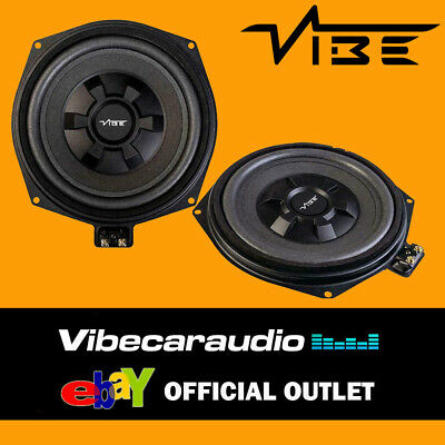 VIBE BMW 1 3 5 Series X1 8  Underseat Factory Fit Car Subwoofer PAIR 345W Total  • 168.95£