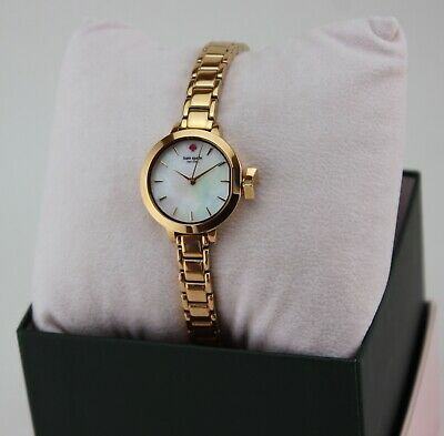 $ CDN147.47 • Buy New Authentic Kate Spade Park Row Rose Gold Mother Of Pearl Womens Ksw1363 Watch