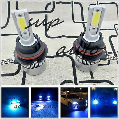 $16.29 • Buy 9007 HB5 8000K Bright Ice Blue 8000LM CREE LED Headlight Bulbs Kit High/Low Beam