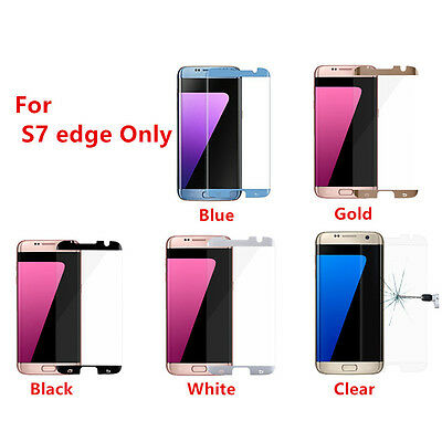$ CDN400.02 • Buy 100 Pcs For Samsung Galaxy S7 Edge Tempered Glass Screen Protector Anti Scratch